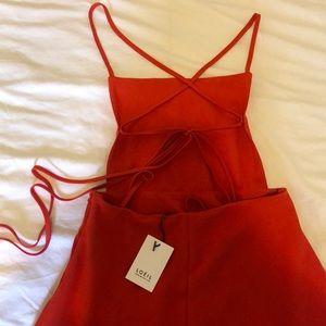 LOEIL maxi summer dress